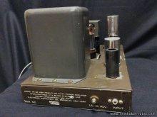 真空管パワーアンプ修理 EICO HF-50 横浜市 N様 【修理完了後の入力端子側】