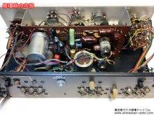 真空管プリアンプ修理 Acrosound S-1001 横浜市 N様 「プリアンプ修理前の内部」