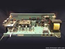 LL BARONET 6501 真空管ラジオ修理 渋谷区 A様 【修理後のシャーシ上から見た様子】