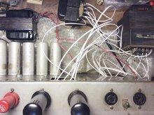 Motiograph MA-7505-A 真空管アンプ メンテナンス 横浜市 N様 【チョーク・アウトプットトランス・電源トランスを離してハム対策検証】