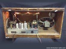 オンキヨー FM-1A 真空管ラジオ修理 杉並区 I様 【ラジオ修理後の背面】