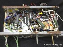 スタンダード MODEL-310改 真空管ラジオ修理 福井県 K様 【修理後のシャーシ内部】