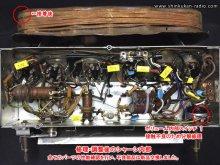GE MODEL-221 真空管ラジオ修理 八王子市 A様 【修理・調整後のシャーシ内部】